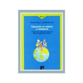 Educación en valores y ciudadanía