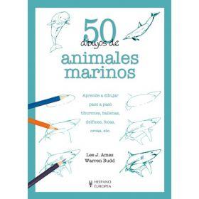 50 dibujos de animales marinos