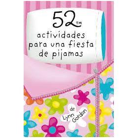 52 Aactividades para una fiesta de pijamas