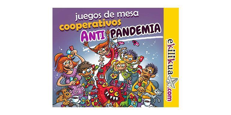 """Juegos de mesa cooperativos """"Antipandemia"""""""