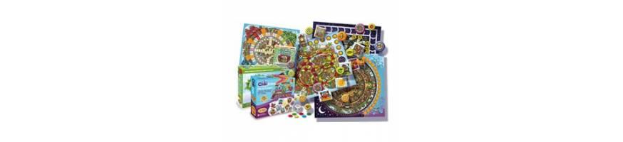 Juegos cooperativos para niños, Juegos de mesa colaborativos