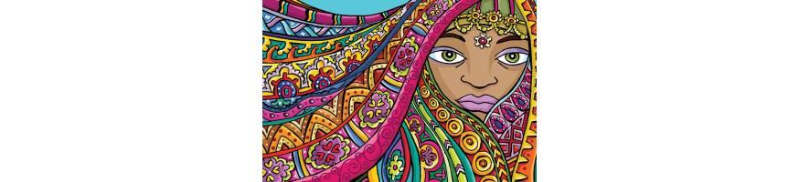 Láminas decorativas con bonitas ilustraciones a todo color