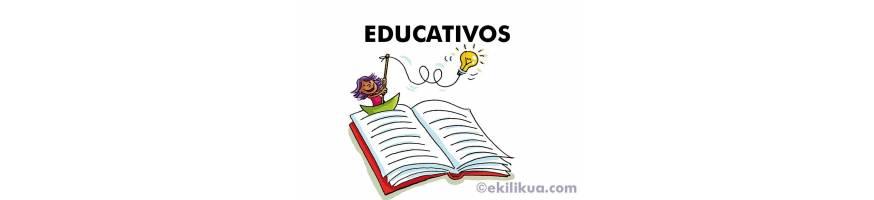 Libros educativos, enciclopedias y monografías para niños